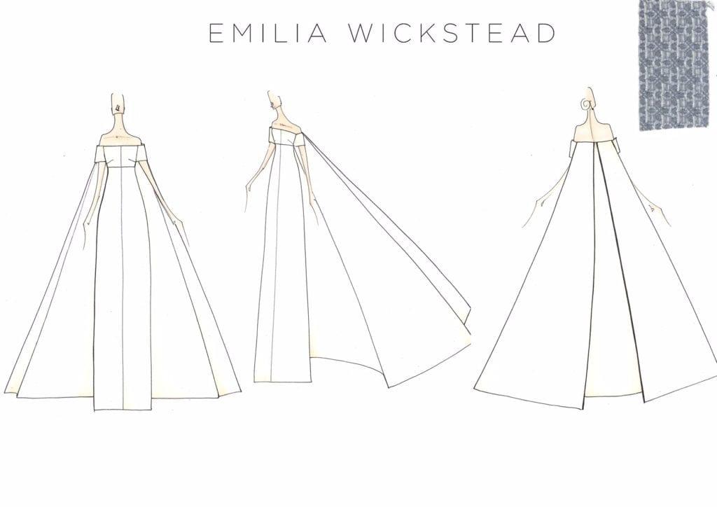 holy duck blog emma watson a szépség és a szörnyeteg london Emilia Wickstead