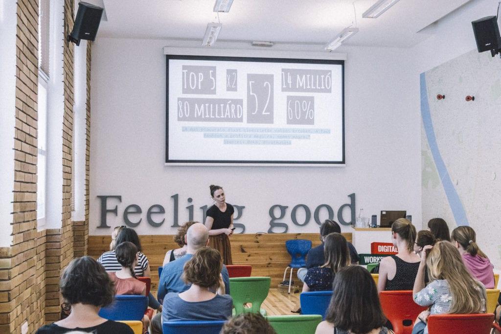 Simplicity Fesztivál 2018 Mengyán Eszter előadás