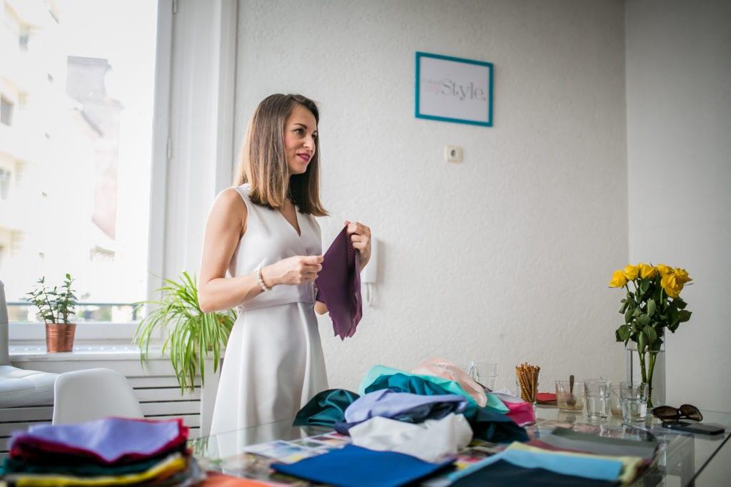 Ragány Angéla színtanácsadó személyi stylist interjú színelemzés Holy Duck! blog